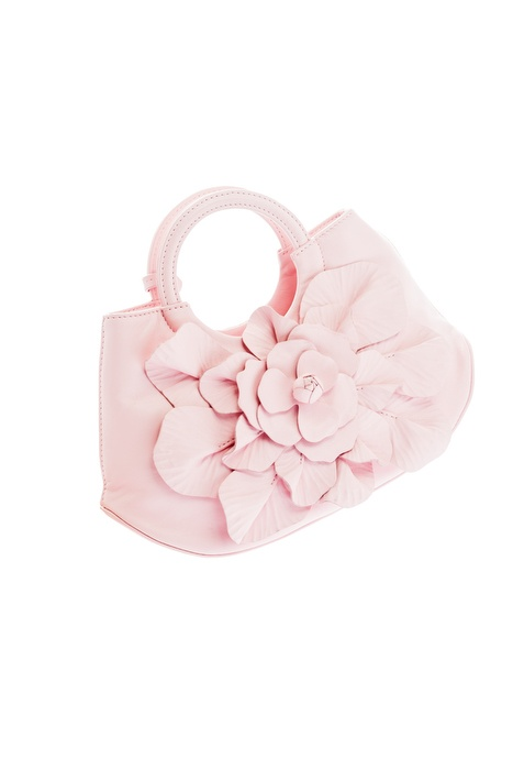 Scarlett BB Garden Paradise #annefontaine #handbag #pink #chic #classic #spring #flower #paris #french #fashion #accessories
