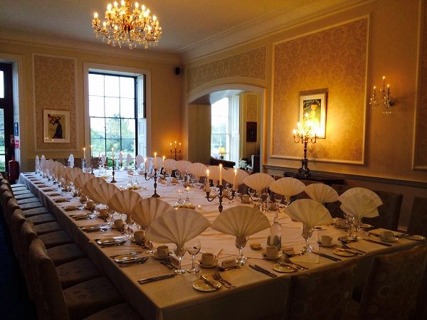 The Topsham Room...perfect for business meetings, events and of course...weddings!  http://exetergcc.co.uk/events/our-venue