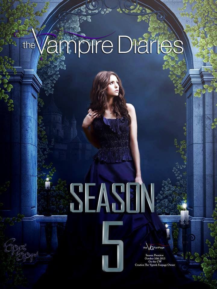 The Vampire Diaries Season 5.......................................................cant wait :D