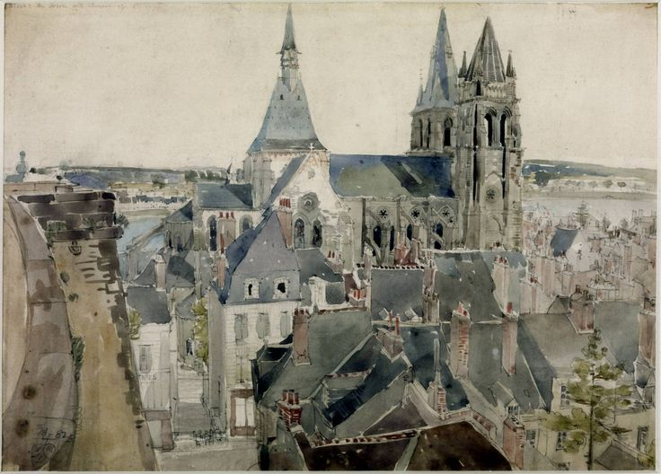 William Richard Lethaby 'Blois', 1882