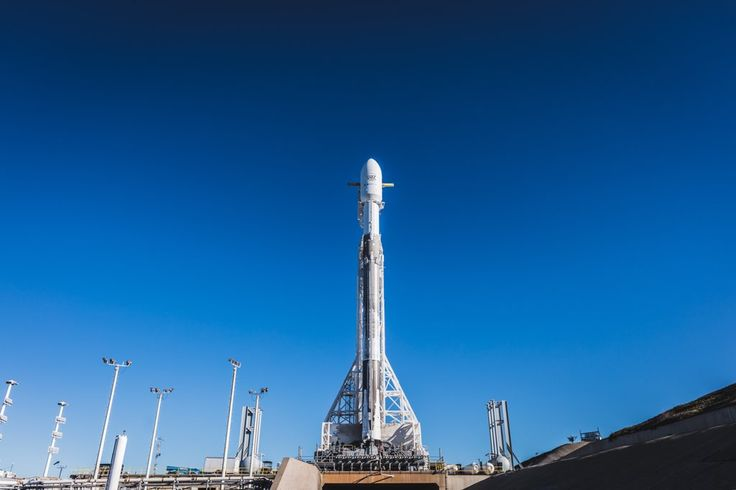 [SpaceX on Twitter] Falcon 9 and PAZ are vertical on Space Launch Complex 4E at Vandenberg Air Force Base in California. Weather is 90% favorable for tomorrow's launch at 6:17 a.m. PST 14:17 UTC.https://twitter.com/SpaceX/status/966075198616363008