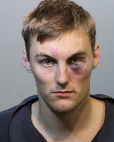 """Charged: BATTERY-TOUCH OR STRIKE Mason Ryan Reynolds Date:06/28/2015Time: 6:05 AM Arresting Agency: Sanford Police Department Personal Information Arrest Age:22 Gender: Male Birthdate: 03/07/1993 Block: 6200 Plantation Lakes Cir City: Sanford, Florida 32771 Height: 6'00"""" Weight: 170 lbs Hair Color: BRO Eye Color: HAZ"""