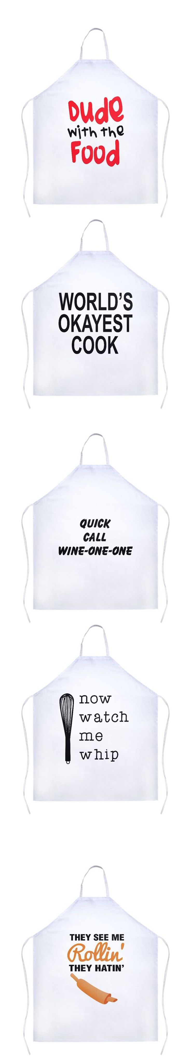 White apron big w - Sarcastic And Funny Aprons For Those Cooks Who Love A Good Laugh