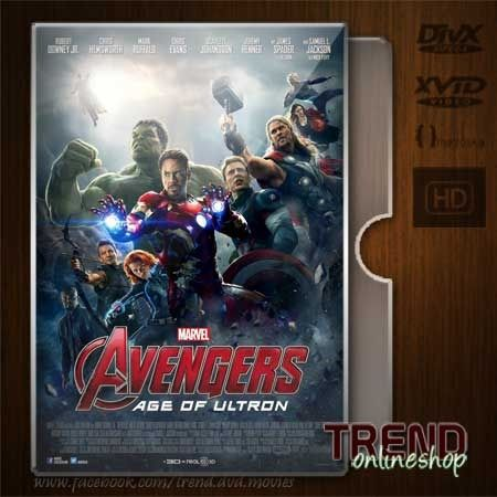 Avengers Age of Ultron (2015) / Robert Downey Jr., Chris Evans / Action, Adventure, Sci-Fi / Ind + Eng / 1080p Webdl | #trendonlineshop #trenddvd #jualdvd #jualdivx