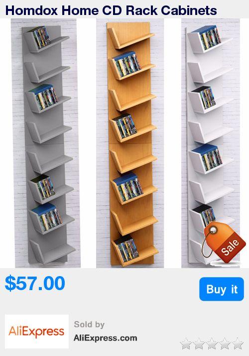 Homdox Home CD Rack Cabinets Bookcase Bookshelf Storage Shelf Shelves * Pub Date: 05:46 Apr 12 2017