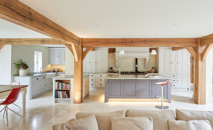 Berkshire Barn - Border Oak - oak framed houses, oak framed garages and structures.