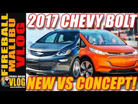 2017 CHEVY BOLT COMPARISON TO CONCEPT - FIREBALL MALIBU VLOG 616 FIREBALL'S BOOKS ON AMAZON! http://ift.tt/2faxJCq FIREBALL'S BLOG! http://ift.tt/12aPqeo FIREBALL MALIBU VLOG - Inspiring you to BREAKOUT! Do WHAT YOU LOVE and LOVE WHAT YOU DO! 2017 CHEVY BOLT COMPARISON TO CONCEPT - FIREBALL MALIBU VLOG 616 - The 2017 #ChevyBolt comes to the Fireball Pad and get s a comparison to the original concept car. Plus more... THE VLOG STORE IS OPEN! Snag one of Fireball's new HATS & MUGS and support…