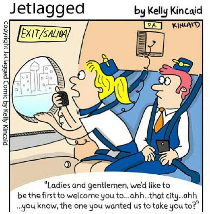Jetlagged comic by Kelly Kincaid | I Love Being A Flight Attendant ...