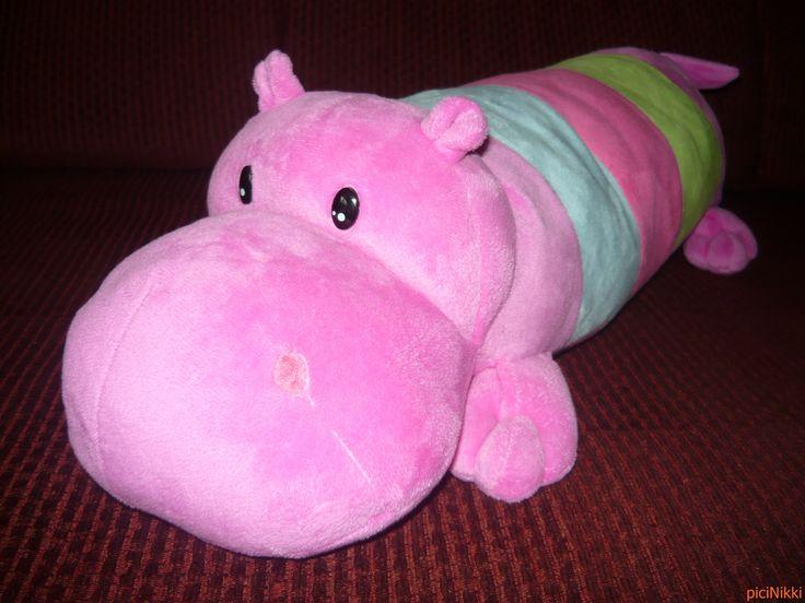 No. 34 | víziló | hippo | plüss | plush | párna | pillow