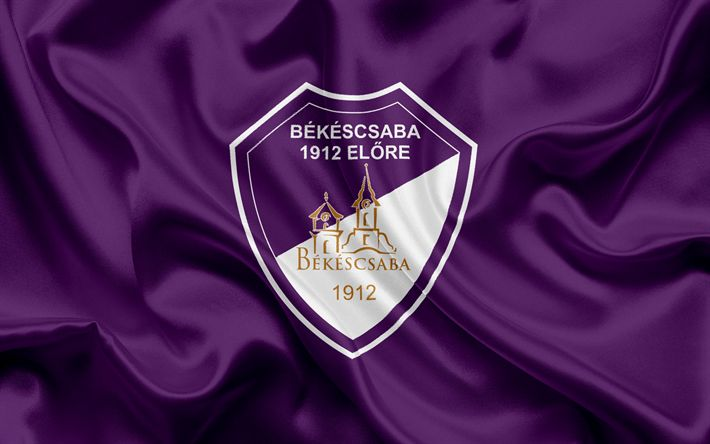 Descargar fondos de pantalla Bekescsaba 1912, Hungarian equipo de fútbol, Bekescsaba emblema, logotipo, Bekescaba, Hungary, fútbol, Hungarian football league