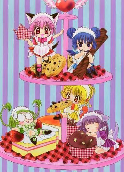 Tokyo Mew Mew! I like the look of this series, reminds me of sailor moon :) I think the characters are all really adorable looking too, and the general art style is lovely :D so I wanna watch it soon :3