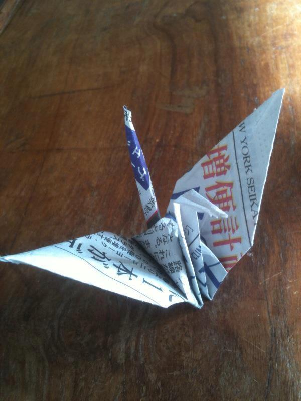 Paper Cranes Workshop