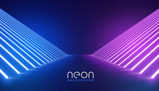 Download Futuristic Neon Lights Stage Floor Background For Free In 2020 Neon Vector Free Neon Backgrounds