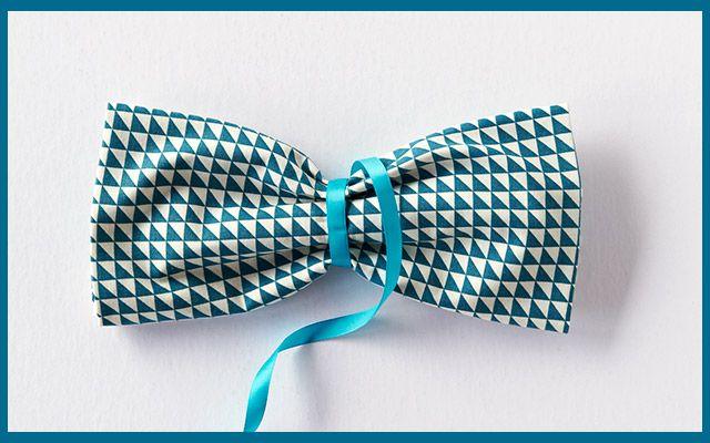 DIY Decorations: Bow Napkin