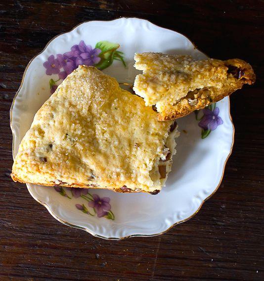Lavender, Date and Pecan Scones | heartbeet kitchen {gluten-free}