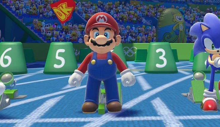 Mario made an appearance at the actual Olympic Games: Earlier this afternoon, I was joking with my roommate about the closing ceremony for…