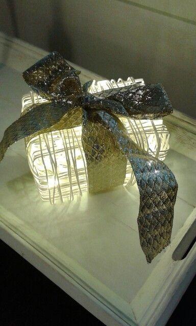 Paperinaru, valot, paketti