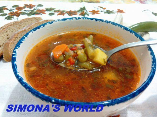 Rețetă Ciorba de legume, de SimonaWorld - Petitchef