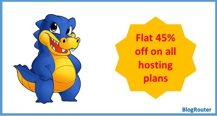 Waiting for a good deal or discount for your web hosting purchase? Here I am sharing HostGator Flat 45% Off coupon which you should not miss. Grab on!