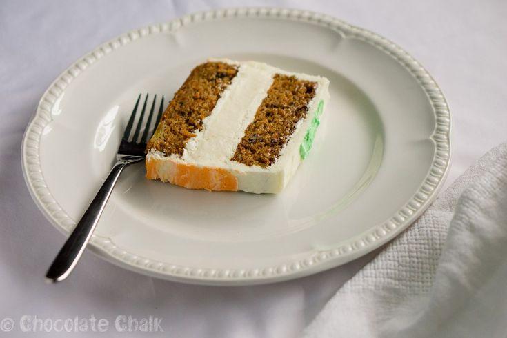Обычный морковный пирог в два счета можно превратить в нарядный вкусный торт! Традиционное сочетание морковный торт + крем из творожного сыра я обыграла по-новому: между морковными слоями прячется слой ванильного чизкейка. Рецепт пирога я уже писала, поэтому ниже будет чизкейк и крем  Из указанного количества ингредиентов получится небольшой торт размером ~20х10 см. — Морковно-манговый...Read More »