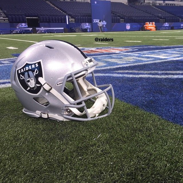 It's almost Oakland Raiders game time.