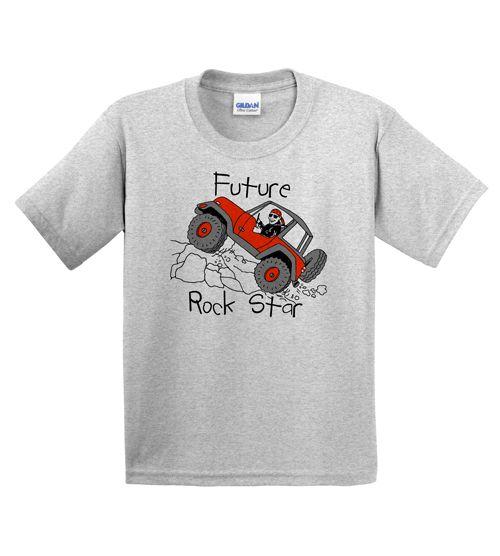 "All Things Jeep - Jeep Kids T-Shirt - ""Future Rock Star"""