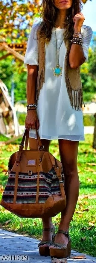 Fashion Is Life: Beautiful Platform Shoes with Accessories,Stylish Mini Dress and Suitable Handbag