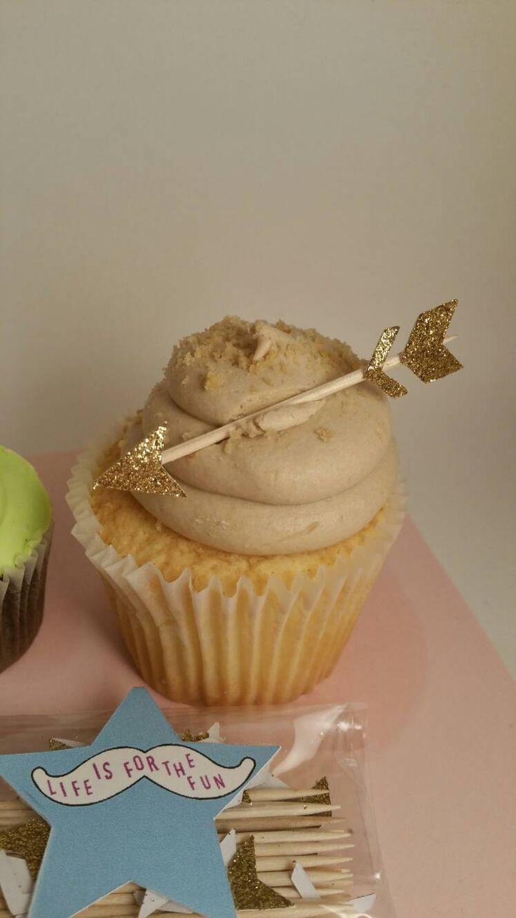 Arrow cupcake toppers, arrow picks, boho food picks, boho cupcake toppers, tribal cupcake toppers, tribal birthday party, tribal babyshower