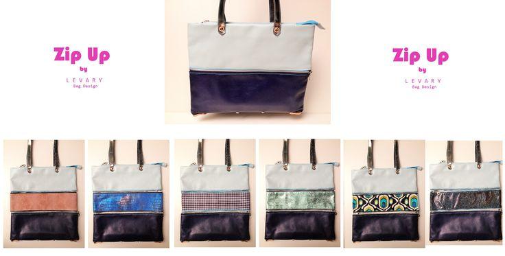 Zip Up bag www.levaryshop.com