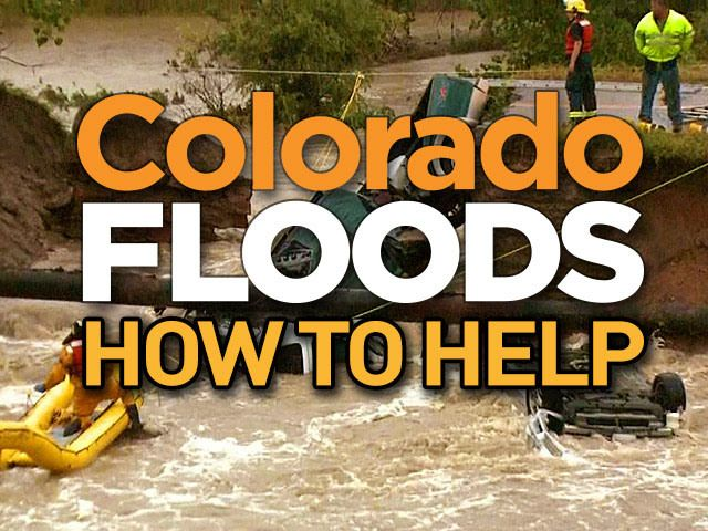 CBS Denver  CBS4 along with other Denver TV stations will air a Colorado Flood Relief telethon on Wednesday from 4 – 10:30 p.m. Funds raised will go to American Red Cross and Community Food Share