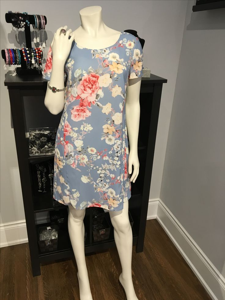 Back Cutout Floral Dress SL8217