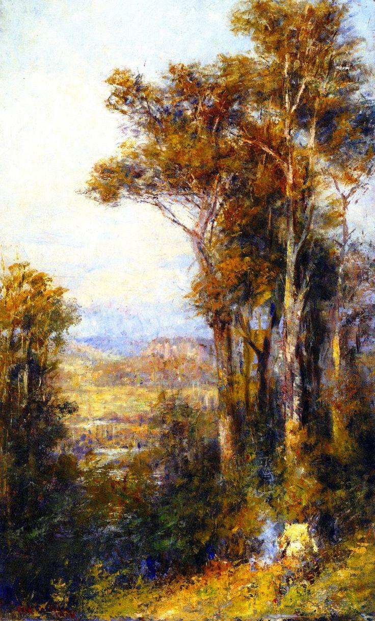 The Athenaeum - Landscape, Macedon (Frederick McCubbin - )