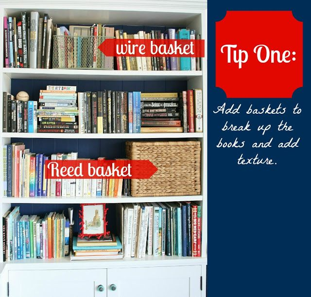 How To Organize Books Shelves That Have Lots Of Books