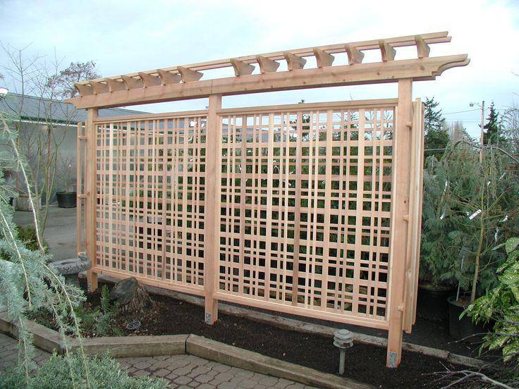 22 best images about for the home on pinterest gardens for Japanese garden trellis designs