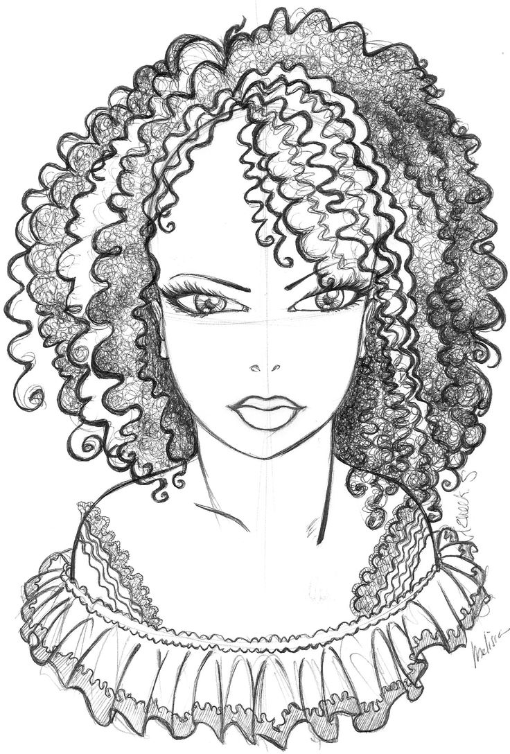 f african american coloring pages - photo #33