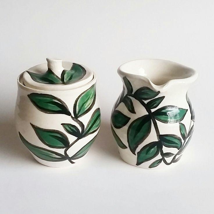 Ceramic Jar and Jug  https://www.etsy.com/nz/shop/KatieJenssenCeramics