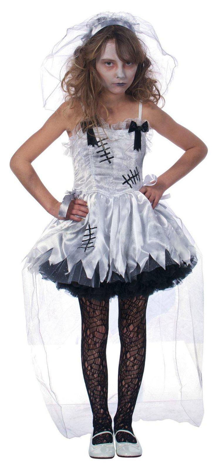 Flower Girl Zombie Costume from Buycostumes.com