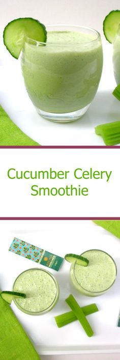 Cucumber and Celery Smoothie. Both warming and cooling at the same time. Makes a great wake me up breakfast or serve in a bowl at lunchtime for a refreshing summer soup.