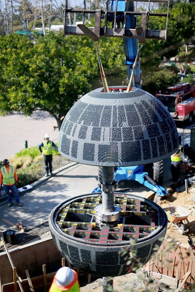 LEGO Death Star Is Nearly Operational at LEGOLAND California (Video)