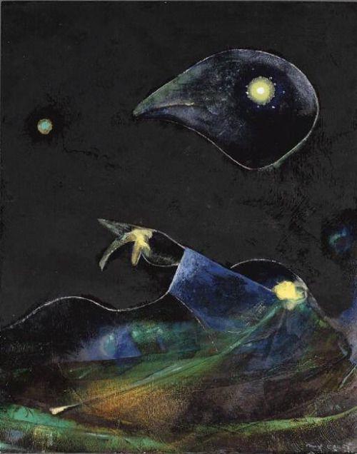 Max Ernst, Nocturne, 1967.