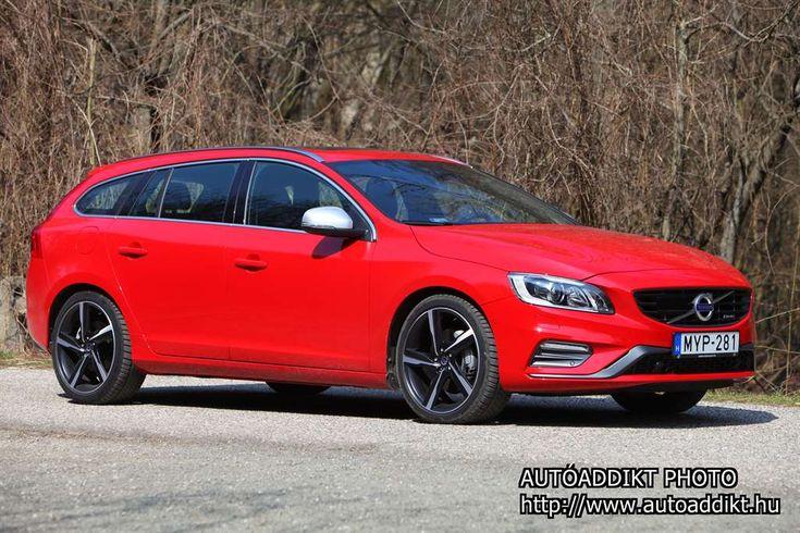 2010 óta gyártják a Volvo V60-at, vagyis az S60 középszegmens kombi verzióját, mostanra, azaz konkrétan a 2014-es modellévre megfrissítették a palettát.