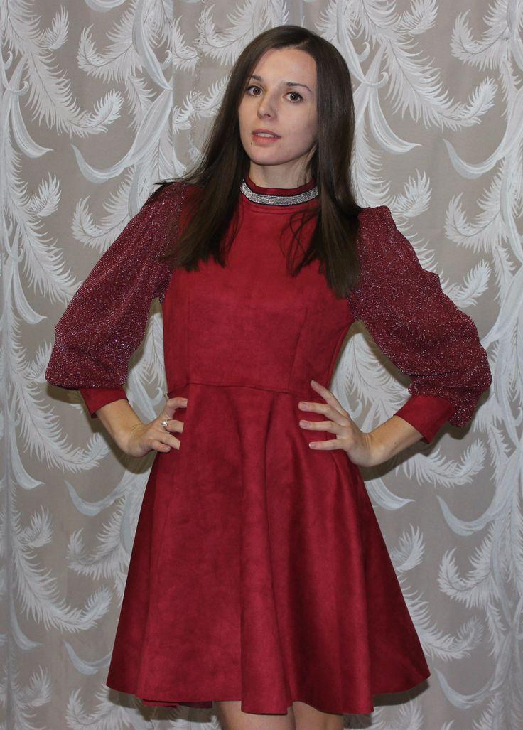Aliexpress, Всем привет и с Новым 2017 годом! Этот год я начну с отзыва на нарядное красное платье, Когда я его заказывала, то отзывов на него вообще не было, но оно меня очень зацепило, особенно именно в темно-красном цвете - http://aliotzyvy.ru/aliexpress-vsem-privet-i-s-novym-2017-godom-etot-god-ya-nachnu-s-otz