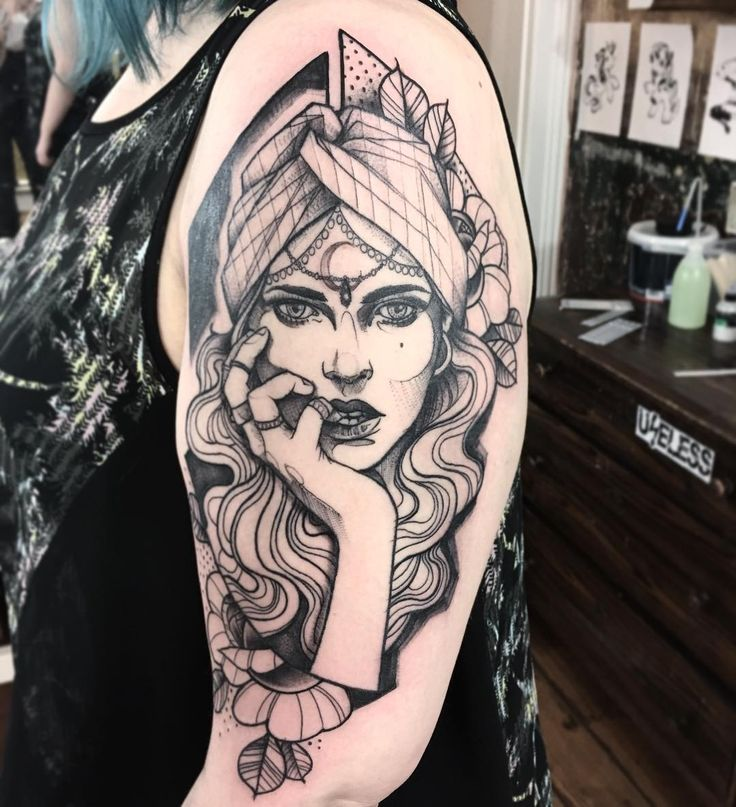 25+ Best Ideas About Gypsy Girl Tattoos On Pinterest