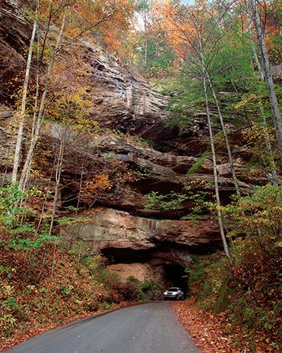 Nada Tunnel - Red River Gorge, Kentucky