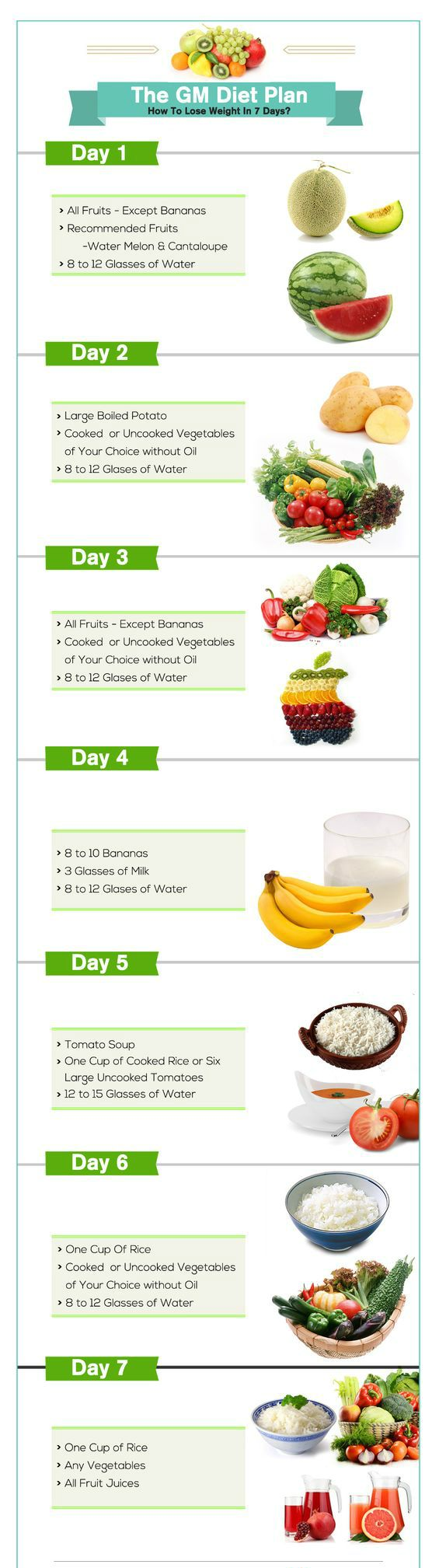 GM Diet Chart: Find the GM Diet Plan PDF Printable Version Free Download. General Motors diet aka GM Diet Chart helps you lose weight without exercise. You don't have to worry about any special workouts. Simply, follow the GM diet program and lose up to 10 pounds in a week safely.    #weightloss #loseweight #GMdiet #workout #health #recipes #motivation #lowcalorie #weightlossdiet