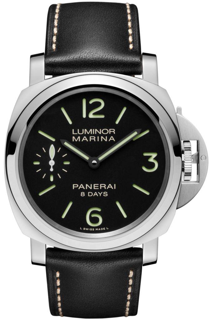 Luminor Marina 8 Days Acciaio - 44mm PAM00510 - Collection Luminor - Officine Panerai Watches