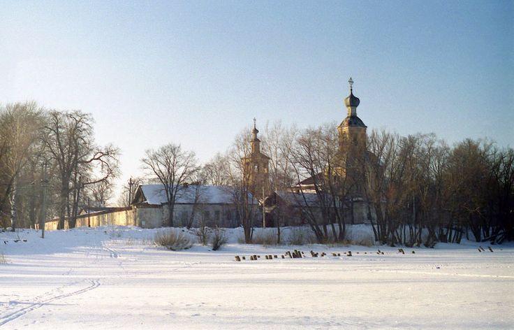 Зима на Селигере. Богородицкий Житенный женский монастырь