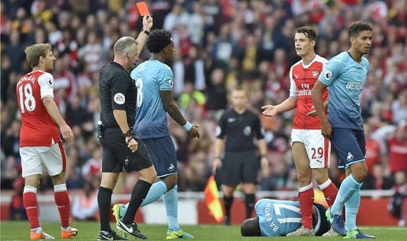 'He didn't mean to hurt anybody': Arsene Wenger defends Arsenal star after red card   via Arsenal FC - Latest news gossip and videos http://ift.tt/2dkr1Oi  Arsenal FC - Latest news gossip and videos IFTTT