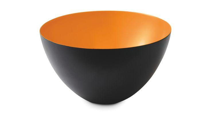 Buy Krenit Bowl in Orange Enamel | Ross & Brown Home Store | Ross & Brown online designer home store