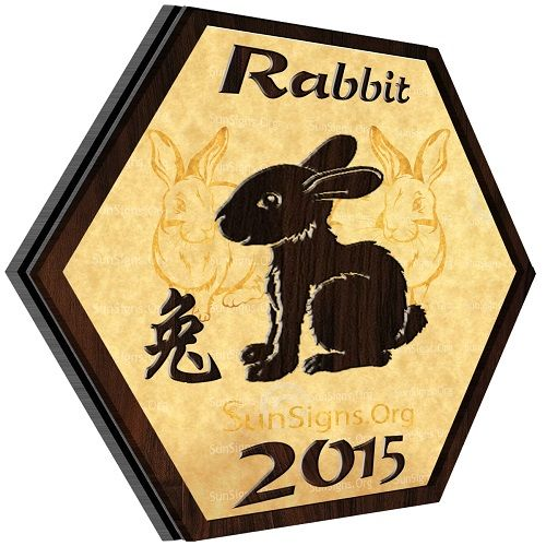 Rabbit Horoscope 2015: will be a peaceful year for the Rabbits. The 2015 Chinese horoscope predicts that because of your tact and diplomacy you will be able to avoid unwelcome situations at work and home